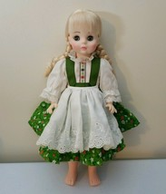 Madame Alexander Storyland Collection Heidi 1580 Without Box, Hat, Or Shoes - $13.43