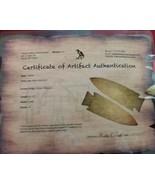 6000 B.P Arrowhead with COA (1237) - $649.99