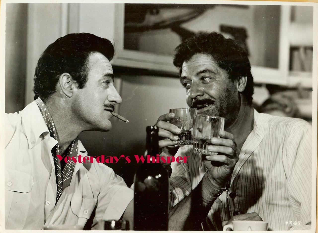 Gilbert Roland Original Underwater! 1955 Movie Photo