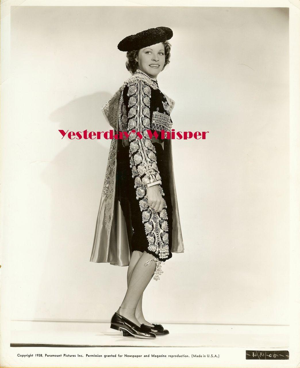 Martha Raye Matador Tropic Holiday Original Film Photo