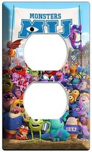 MONSTERS INC UNIVERSITY MIKE SULLY ELECTRICAL OUTLET COVER GIRLS ROOM DE... - $8.99