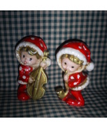 Two adorable Musical Pixies by Inarco - $7.00