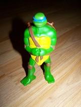 2007 Teenage Mutant Ninja Turtle Leonardo Action Figure TMNT McDonalds Blue Mask - $8.00