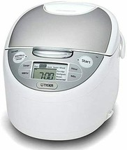 Rice Cooker for Overseas Tiger JAX-S10A WZ 240V Made in Japan - $316.47