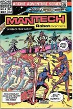 ManTech Robot Warriors Comic Book #4 Archie Comics 1985 VERY FINE/NEAR MINT - $3.50
