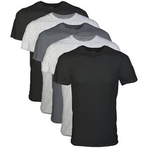 Gildan Men's Crew T-Shirt 5 Pack, Assortment, Small - $24.09