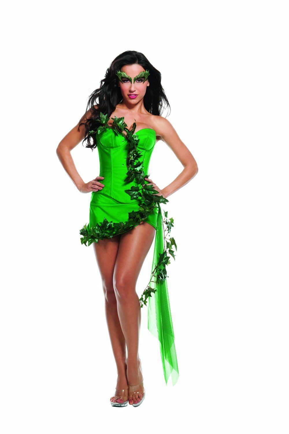 Starline Ivy Girl Poison Ivy Batman Womens Adult Halloween Costume T3812