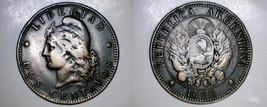 1890 Argentina 2 Centavo World Coin - $14.99