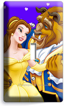 Beauty And The Beast Princess Belle Single Light Switch Wall Cover Bedroom Decor - $8.09