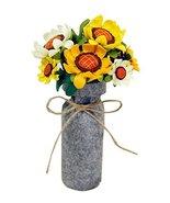 Artificial Flowers Decorative Bouquets Imitation Flowers Small Sunflower - $14.42