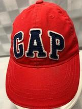 BABY GAP Red Size M/L Adjustable Baseball Ball Cap Hat - $6.92