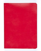 Miquelrius Soft Bound Journal, Red (6 x 8, Lined 300 SHEETS/600 PAGES) - $17.32