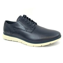 Timberland Men's Franklin Park Dark Navy Leather Oxford Shoes A1N6M - $79.99