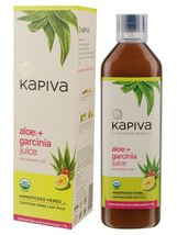 KAPIVA ALOE + GARCINIA JUICE 1 L, ENERGY BOOSTER & GOOD FOR DIGESTION - $34.64