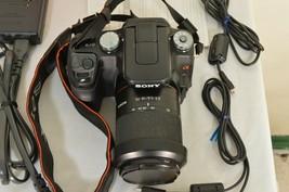 Sony Alpha a100 10.2MP Digital SLR Camera - Black (Kit w/ DT 18-70mm Lens) image 2