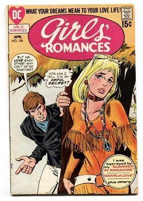 GIRLS' ROMANCES #156-comic book-D.C. ROMANCE-SILVER AGE