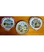 Lot of 3 Souvenir Plates Lake of the Ozarks Bagnell Dam  St. Louis Zoo  ... - $12.95