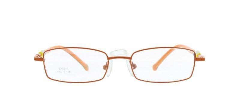 eef4ffba3f4 Eye Buy Express Bifocal Kids Childrens Reading Glasses Orange Black Oval