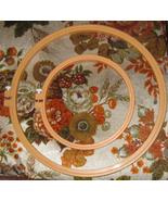 """Two Plastic Embroidery Hoops 6"""" & 10"""" Made In USA - $3.00"""