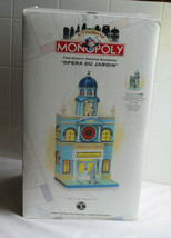 Monopoly Dept. 56 City Lights OPERA DU JARDIN Building 280 Marvin Gardens - $31.44