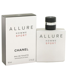 Chanel Allure Homme Sport 1.7 Oz Eau De Toilette Cologne Spray  image 2