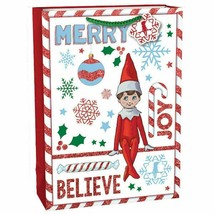 The Elf On The Shelf® Christmas Gift Bag Extra Large Vertical 18 x 5 x 13in - $11.83