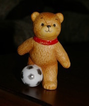 ENESCO Lucy and Me Soccer Bear Figurine - $4.99