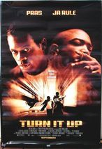 """2000 TURN IT UP Pras Ja Rule Movie POSTER 27x40"""" Motion Picture Promo - $15.99"""
