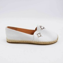 Kate Spade New York Womens Gillian Espadrille Flat Shoes White Jute Trim 11 M - $74.24