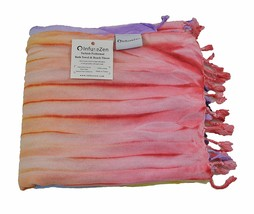 Tiedye Thin Turkish Bath Towel - Tie Dye Beach Towel, Luxury Bath Sheet,... - $25.19