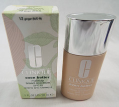 Clinique Even Better Makeup Broad Spectrum SPF 15 Ginger 12 M/D-N 1 oz 30 ml - $34.64
