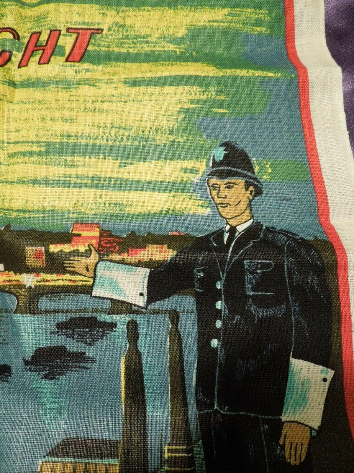 Vintage London by Night by Blackstaff Pure Irish Linen Towel Art image 10