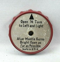 One Coleman Genuine Made in USA Camping Lantern Control Knob Model 200A - $32.99