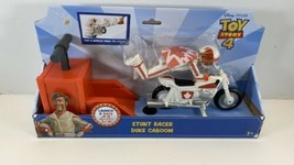 Disney Pixar Toy Story 4 Stunt Racer Duke Kaboom Posable Launch & Race New - $13.81