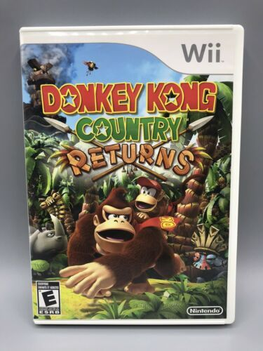 Primary image for Donkey Kong Country Returns (Nintendo Wii, 2010)