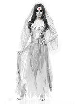 Charades Women's Ghost Bride, as Shown, Medium - $82.93