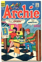 Archie #178 1968-soda shop-ice cream-Twiggy tribute-FN+ - $75.66