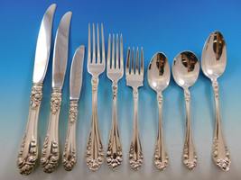 Normandie by Northumbria Canada Sterling Silver Flatware Set Service 59 pieces - $3,145.50