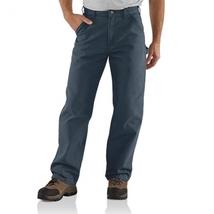 Carhartt work pants Men's Cotton Duck Carpenter  B11ptb 32x36 prewashed ... - $37.99