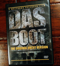 Das Boot, The Original Uncut Version U-Boat U-Boats Nazi Germany 2 disc ... - $16.82