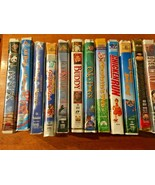 Lot of 22 Family Based VHS Tapes - Hard Case -GUC-All Dogs, Chitty-Chitt... - $21.78