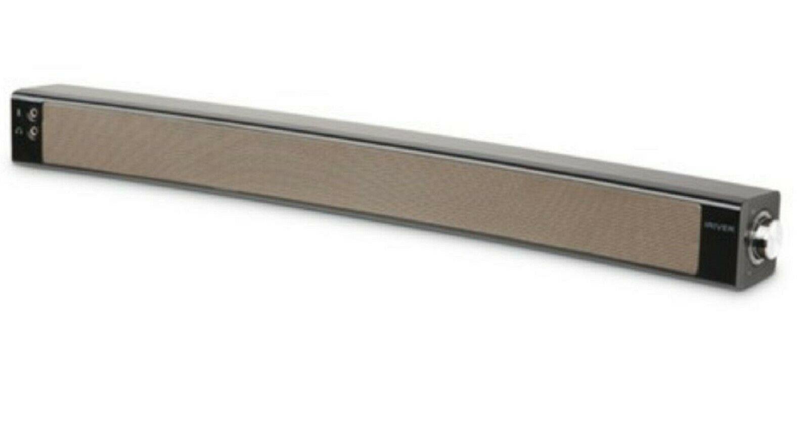 iRiver IR-SB200 USB Powered Curved Sound Bar PC Computer Speaker (Black)