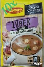 10 x WINIARY POLAND Sour rye Żurek Zurek with Croutons Soup Instant (10x... - $9.41