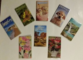 Pocket Planners For School, Work, Appts. Choose from Ten Styles 2019-2020 - $2.50