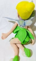 "Disney Tinkerbell Plush Stuffed 16"" Sitting Fairy Doll Northwest Company image 3"