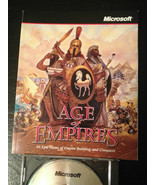 Microsoft Age of Empires inside move database strategy guide book PLUS G... - $20.00