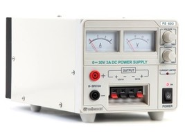 Velleman PS603U Variable 0-30V/2.5A + Fixed 5V,12V/1A Bench Supply  ( PS... - $144.88