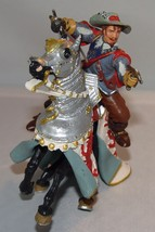 Plastoy Papo Musketeer on Horse Toy PVC Action Figure - $12.40