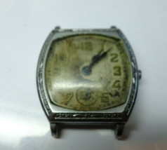 Elgin  art deco Elgin wristwatch for repair or parts - $91.92