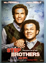 STEP BROTHERS MOVIE Poster Signed by 9 cast with COA, AUTHENTIC, Excelle... - $101.00